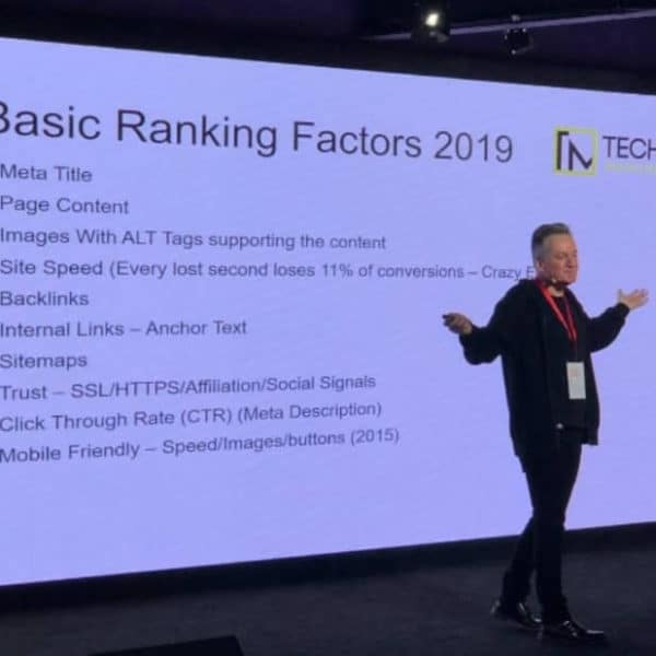 Nigel Carr - Carousel Projects SEO - Tech Manchester - 4 Feb 2019