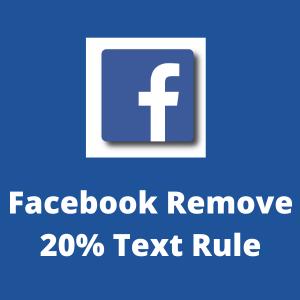 Facebook Text Rule